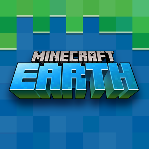 Logotipo Minecraft Earth